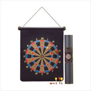 C Magnetic Dartboard  - Click To Enlarge